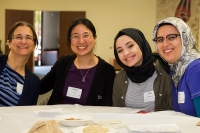 """SILICON VALLEY, California — On Sunday, May 6, 2018, more than sixty Jews, Christians and Muslims united in Sunnyvale at BayCC Muslim community center to prepare a hot meal for the homeless and hungry of Silicon Valley."""