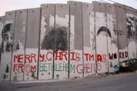 graffiti on Bethlehem's wall in 2010