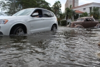 """October 2016 King Tide Swallows Parts of South Florida,"" (Oct. 17, 2016). An October 15 full moon and swells from Hurricane Nicole made for an extraordinary king tide over the weekend. Reporter Jess Swanson captured these images in Fort Lauderdale and Hollywood as residents explored their flooded communities."