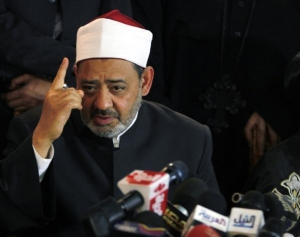 """Egyptian Grand Imam of Al-Azhar Ahmed al-Tayeb in Cairo January 2, 2011. REUTERS/Mohamed Abd El-Ghany."" Note that he was listed as second most influential Muslim in the world by this year's issue of the Muslim 500, right after King Abdullah of Saudi Arabia"